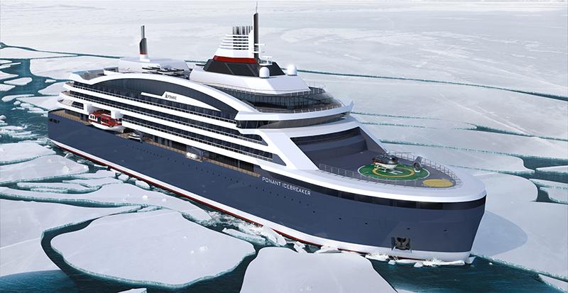 Ponant, icebreaker, world first, cruising