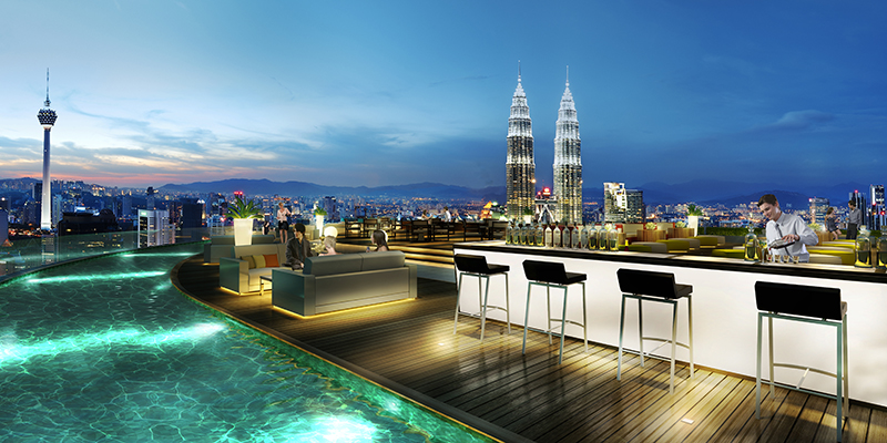 Hotel Banyan Tree Kuala Lumpur, Malaysia