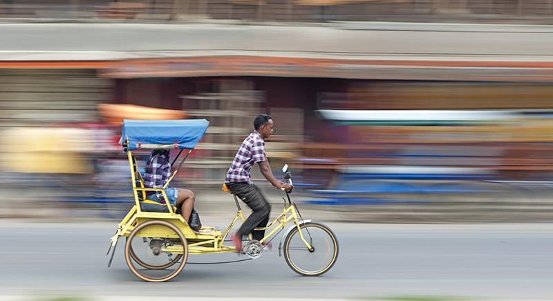 Rickshaw, Madagascar