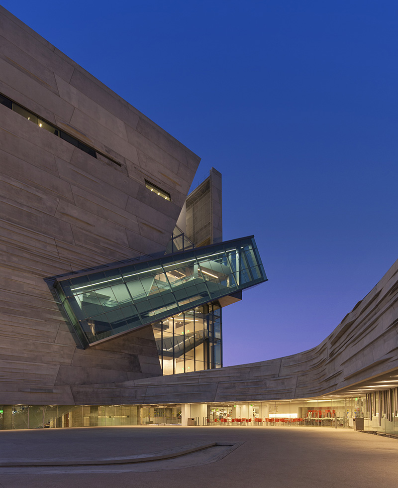 The Perot Museum of Nature and Science in Dallas Downtown district, © Mark Knight Photography