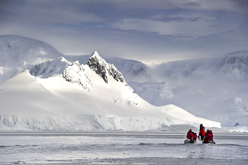 Contours Travel, Wilhelmina Bay, Antarctica