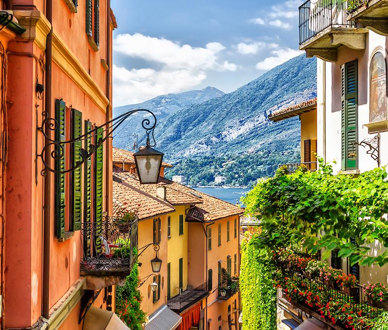 Bellagio, Como Lake, Italy, Collette