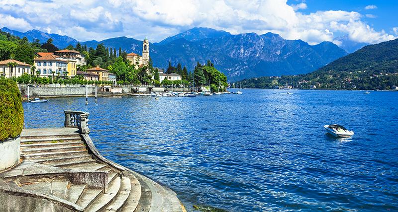 Italy, Lake Como, Tremezzi, Collette