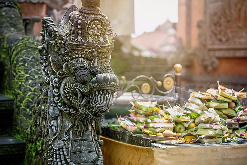 Hindu statues, Bali