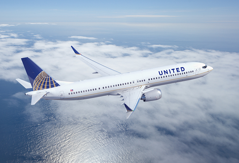 United Airlines Boeing 737 MAX9