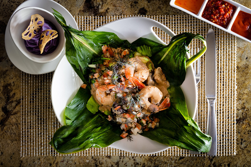 Seafood Laulau, Kõ, Hawaii