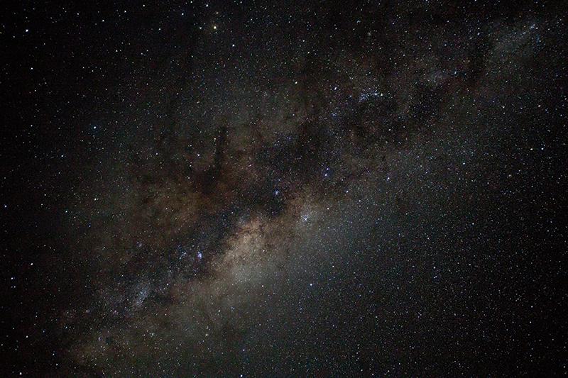 Night sky, Pitcairn Island