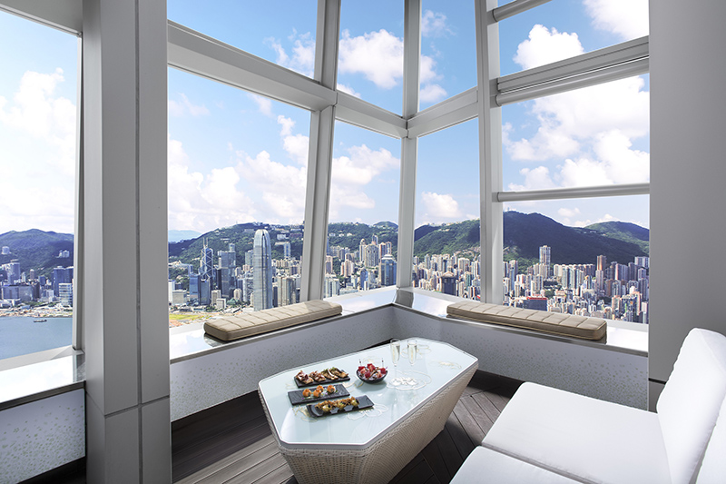 OZONE Terrace Bar, Hong Kong