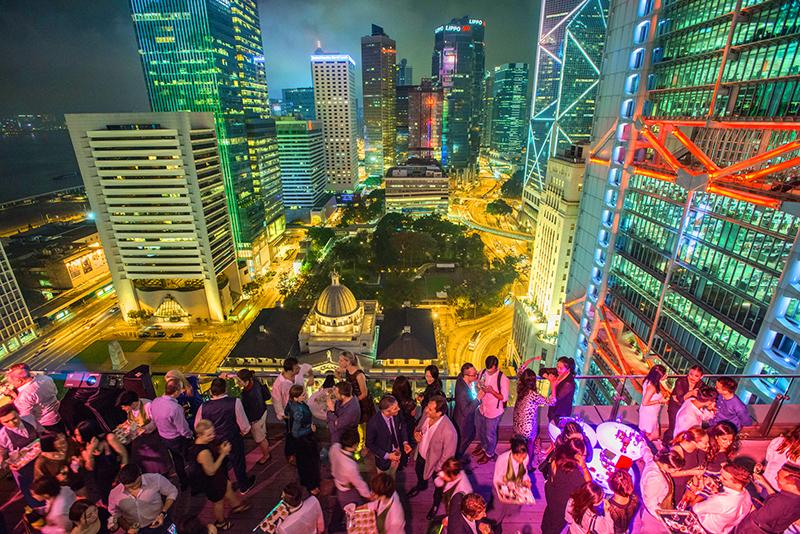 Sevva, Hong Kong, Hong Kong nightlife