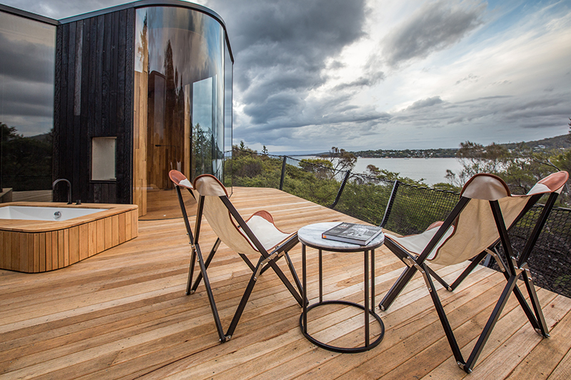 The Coastal Pavilions at Freycinet Lodge