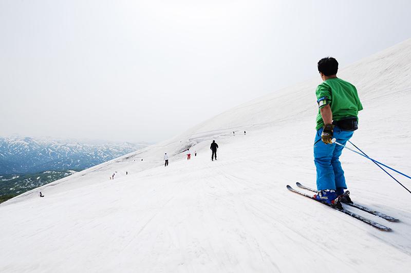 Gassan, Mt Ubagatake, Yamagata
