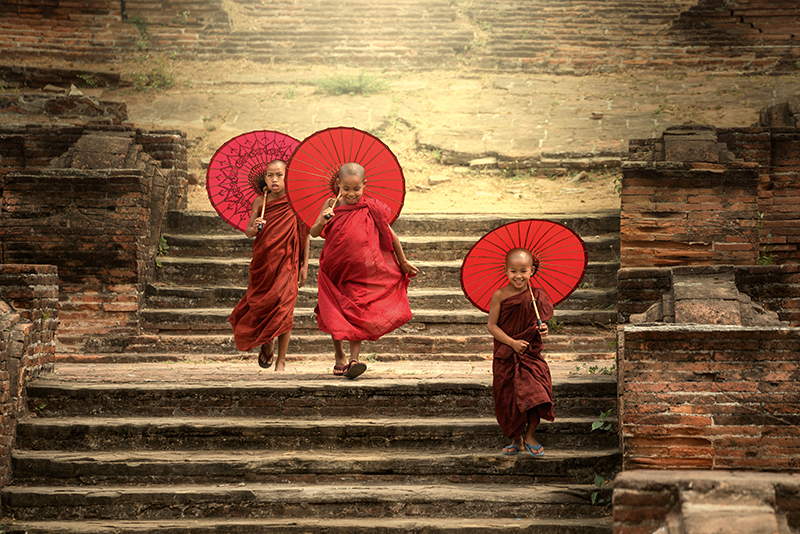 monks, Myanmar, Travelbay