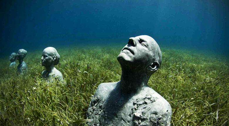 Mexico, Underwater Art