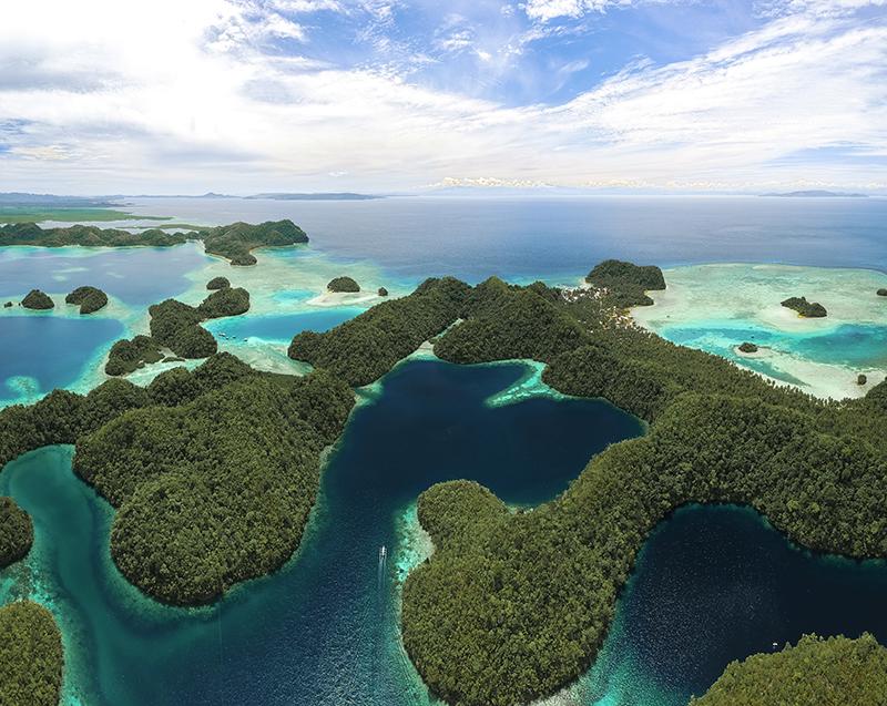 Sugba Lagoon, Philippines, Siargao Island
