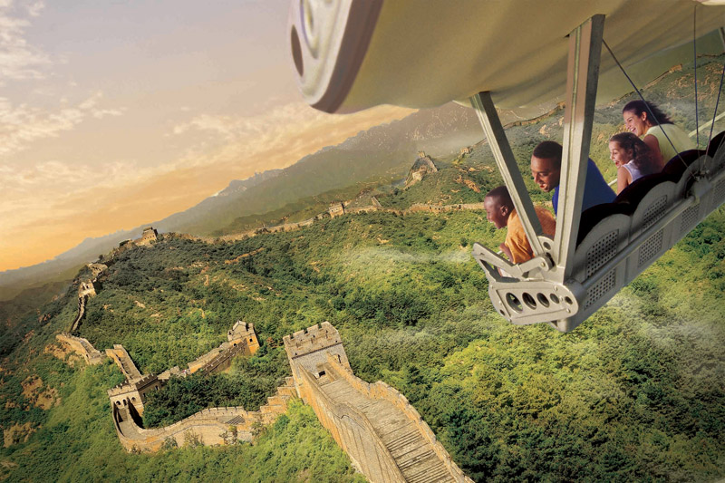 Disneyland California Adventure Park, Soarin Around the World, theme park, fun, Disney