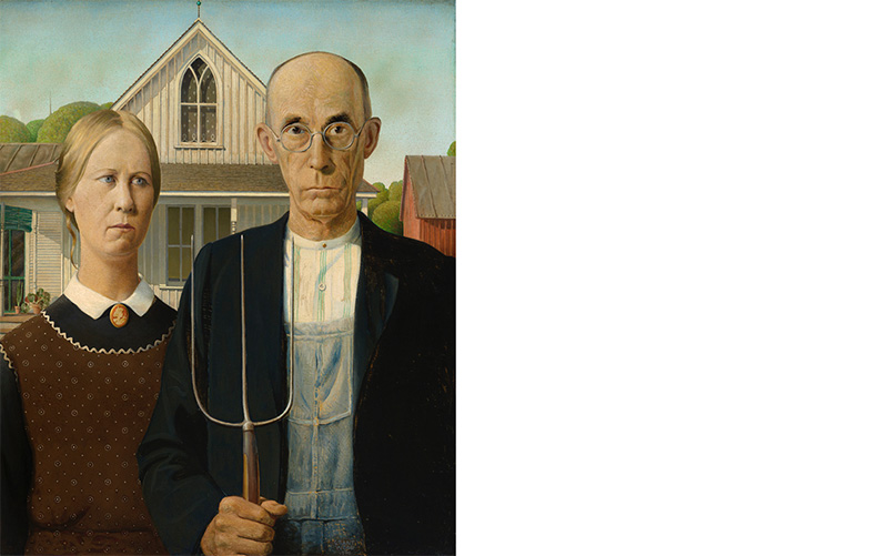 The Whitney Museum, New York, American Gothic