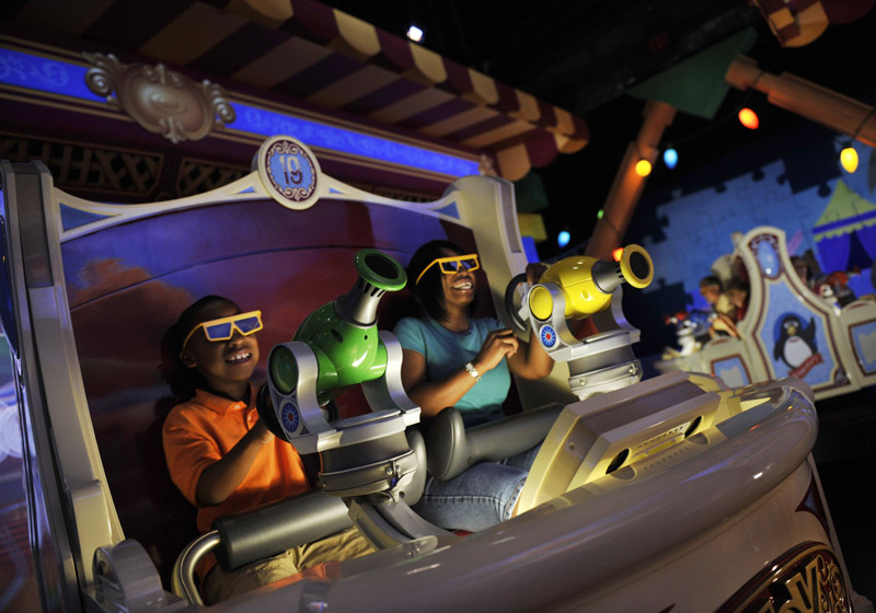 Toy Story Mania, Pixar Fest, Disneyland California Resort