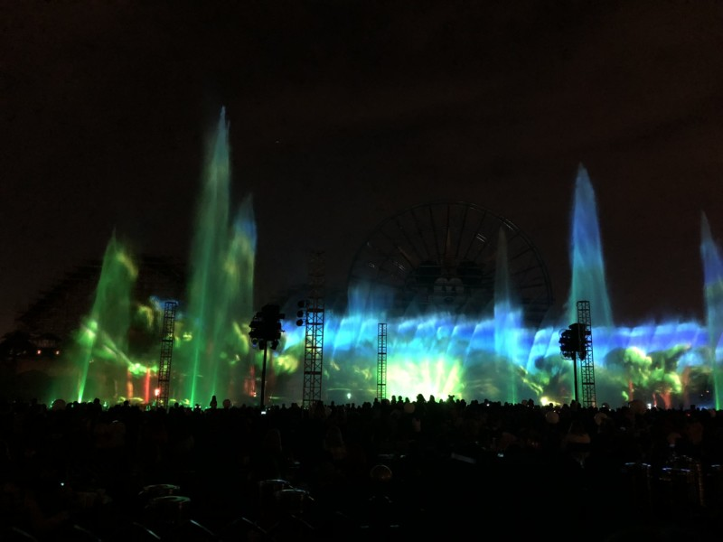 World of Color, Disney California Adventure