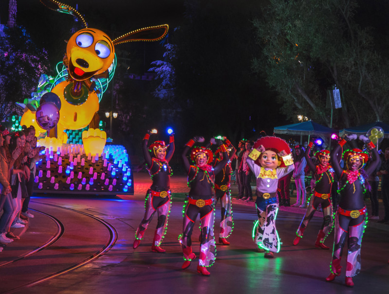 Disneyland, Toy Story, Paint the Night