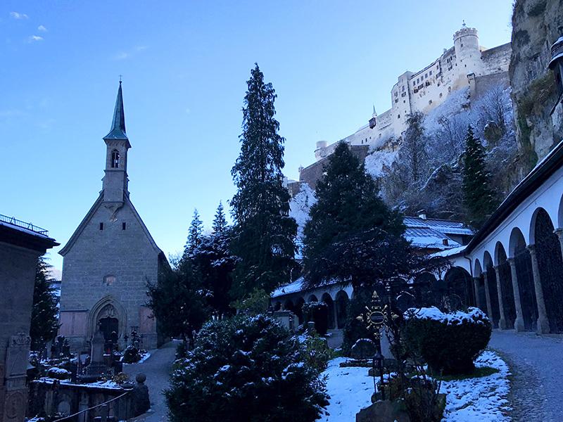 Salzburg, St Peters, Cemetery, Sound of Music