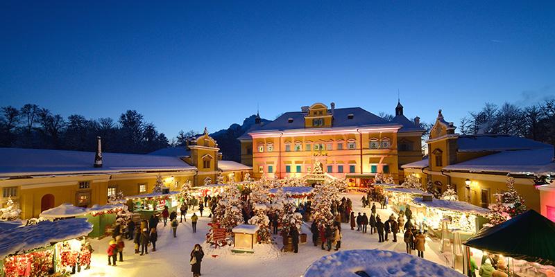 Salzburg, Austria, Christmas, Hellburn