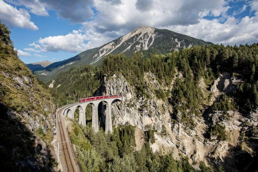 Suiza: El viaducto de Landwasser © Andrea Badrutt