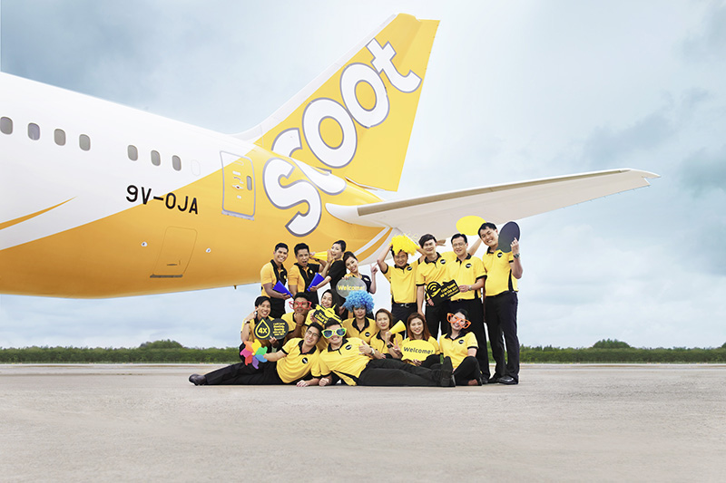 Jared Simcox, General Manager Scoot Airlines