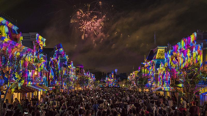 Pixar Nighttime Spectacular, Pixar, Pixarfest, Disneyland