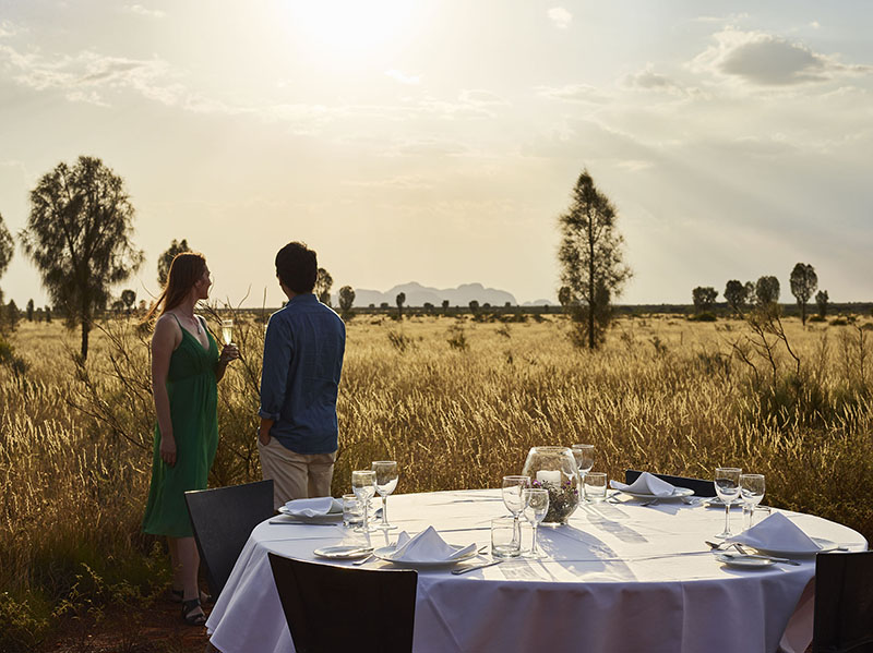 Sounds of Silence dinner, Uluru, Ayers Rock