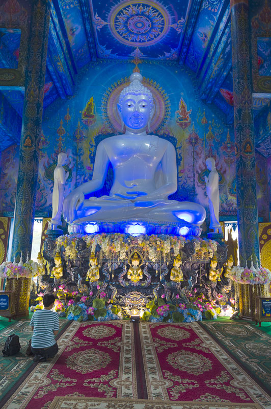 Blue Temple, Thailand,
