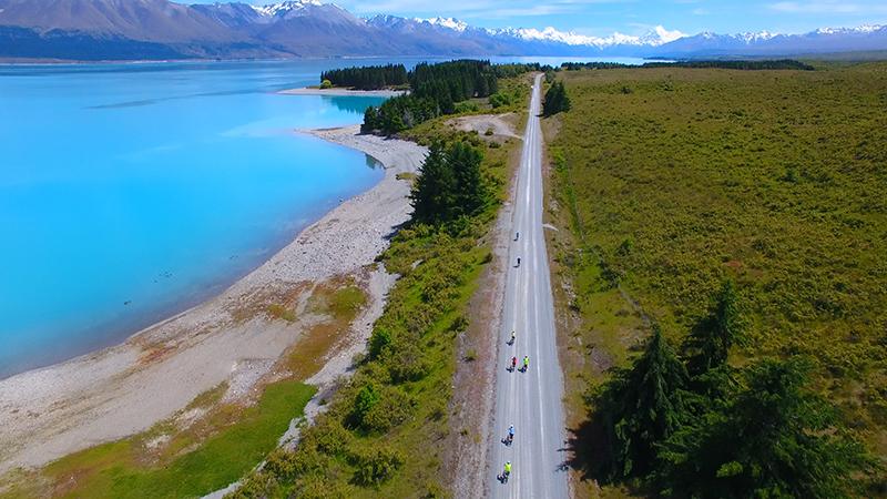 Lake Ohau, New Zealand, Cycling, Adventure South NZ