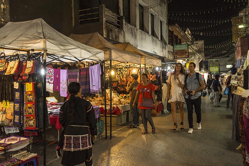 Chiang Mai, night market, Thailand