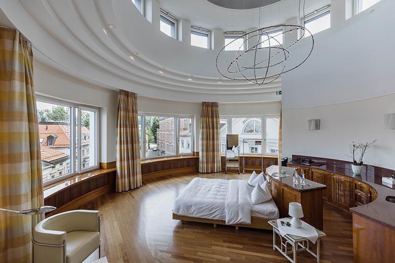 Einstein Hotel, pop-up hotel, Switzerland, St Gallen, Switzerland Tourism