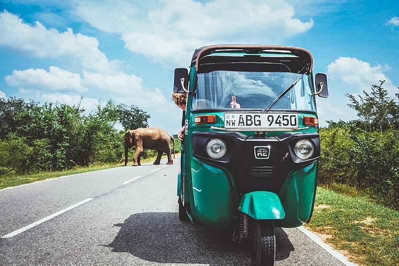 Tuktuk Rental, Sri Lanka