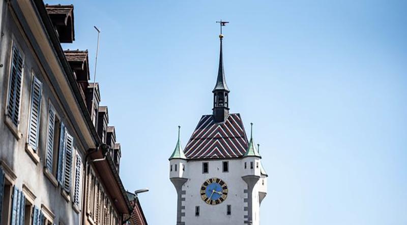 The City Tower in Baden, pop-up hotel, Switzerland, Switzerland Tourism