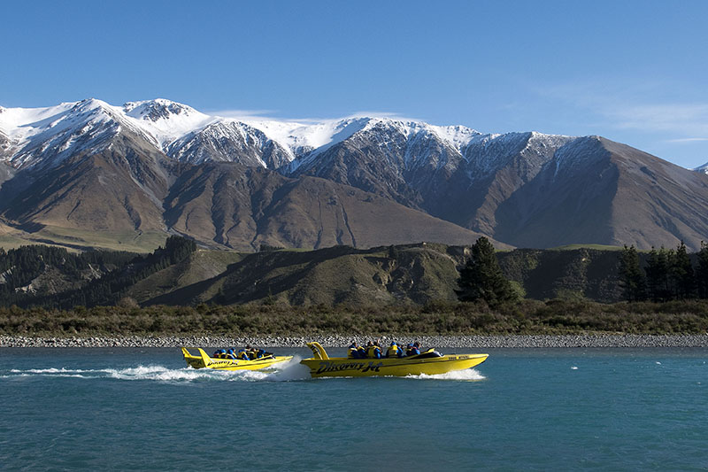 Rakaia Gorge, New Zealand, Discovery Jet