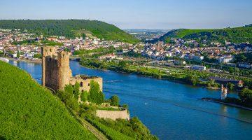 Ehrenfels Castle, Rhine River, Ruedesheim, Avalon Waterways, Avalon Imagery II
