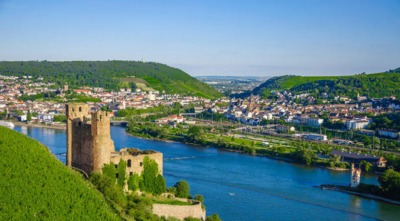 Ehrenfels Castle, Rhine River, Ruedesheim, Avalon Waterways, Avalon Imagery II