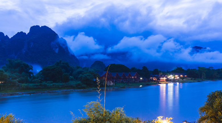 Nam Song River, party town, Laos, Amari Vang Vieng, nature, wildlife