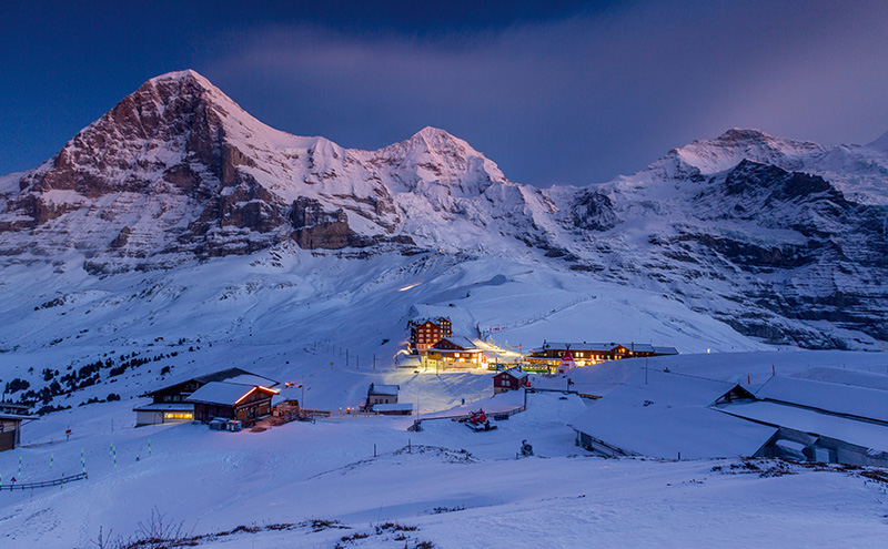 Kleine Scheidegg, Jungfrau, Switzerland