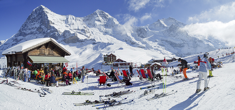 Jungfrau ski region, Switzerland
