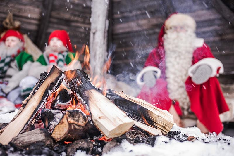 Santa Claus Village, Igloos, Santa, Hotel Lilla Roberts, Helsinki, North Pole, Christmas, Meet Santa