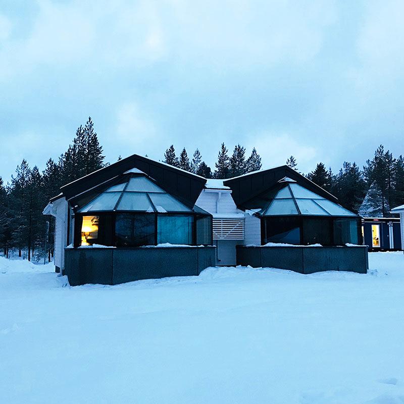 igloos, Santa, lapland, aurora borealis, arctic tree house hotel, magical, midnight sun, bucket list