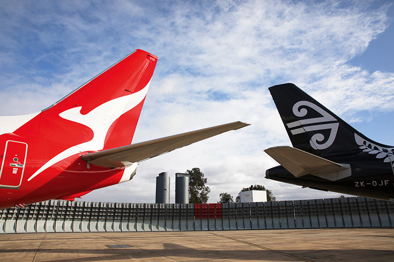 Qantas, Air New Zealand, Codeshare, frequent flyers