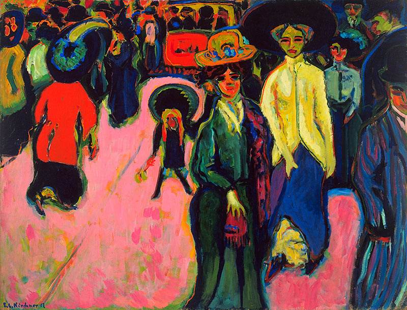 Ludwig, MoMA, MoMA in Melbourne, modern art, art galleries, Ernst Ludwig Kirchner,