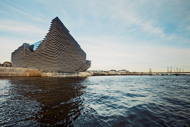 East Coast Scotland, V&A Dundee, Dundee, Designer museum, Designer gallery, Scotland, Visit Scotland