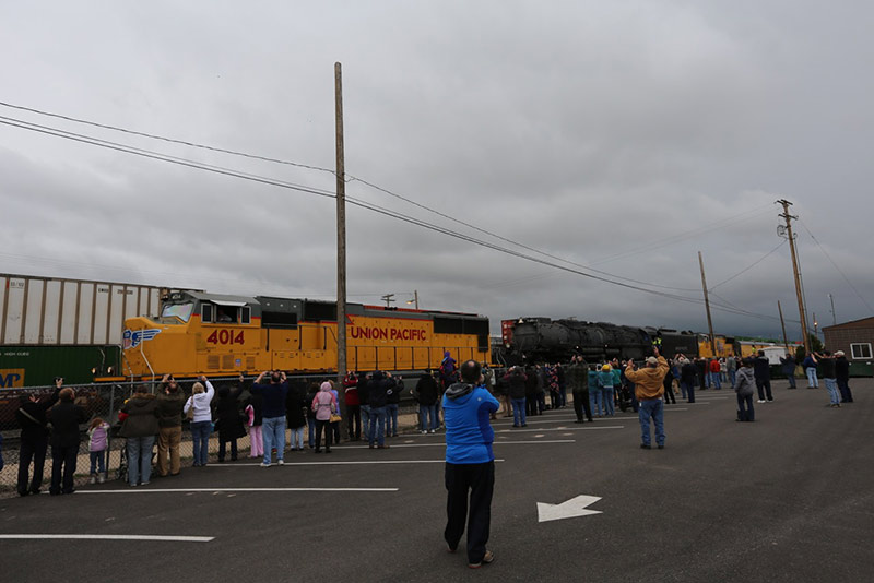 Wyoming Tourism, Trains, Laramie County, Big Boy train