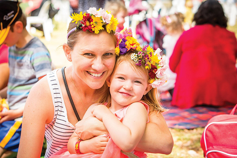 family friendly, festivals, flowers, flower festival, toowoomba, seeaustralia,