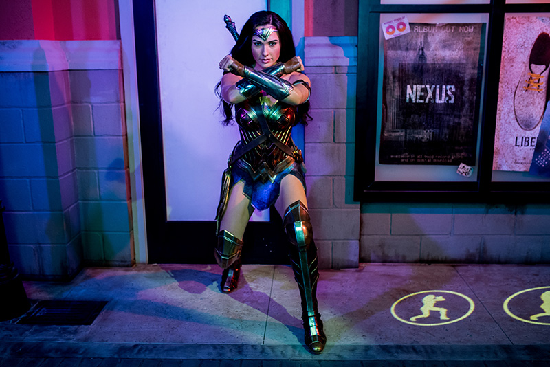 Wonder Woman, Justice League, Madame Tussauds Sydney, Justice League: A Call for Heroes