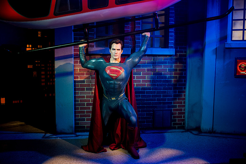 Superman, Justice League, Madame Tussauds Sydney, Justice League: A Call for Heroes